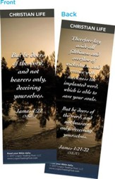 But Be Doers of the Word, and Not Bearers Only Bookmarks, Pack of 25
