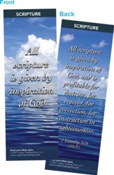 All Scripture is Given By Inspiration of God Bookmarks, Pack of 25