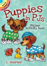 Puppies in PJs Sticker Activity Book