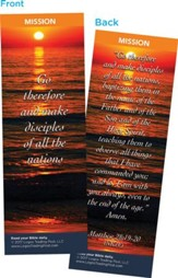 Go Therefore and Make Disciples, Bookmarks, Pack of 25