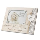 Love is Patient, Love is Kind, 25th Anniversary Photo Frame