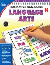 Interactive Notebooks Language Arts, Grade K