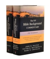 The IVP Bible Background Commentary on the New Testament &  the Old Testament