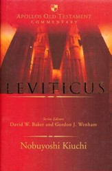 Leviticus: Apollos Old Testament Commentary [AOTC]