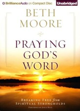 Praying God's Word Unabridged Audiobook on CD