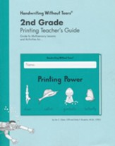 Printing Power Teacher's Guide, Grade 2, Updated Edition