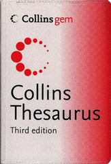 Collins Gem Thesaurus 3rd Edition