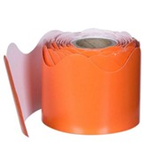Orange Rolled Border, Grades PreK-8