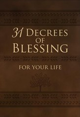 31 Decrees of Blessing for Your Life - eBook