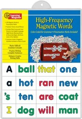 Learning Magnets High Frequency  Words
