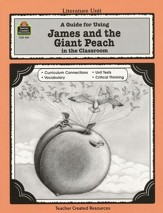 James and the Giant Peach, Literature Guide Grades 3-5