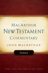 MacArthur New Testament Commentary Index - eBook