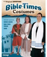 Bible Times Costume Patterns, Set of 3