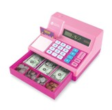 Pink Calculator Cash Register