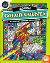 Tropical Color Counts: A Color by Number Collection