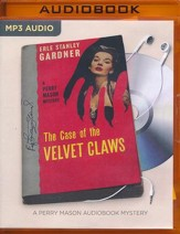 The Case of the Velvet Claws - unabridged audio book on MP3-CD