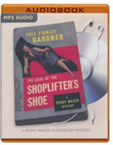 The Case of the Shoplifter's Shoe - unabridged audio book on MP3-CD
