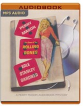 The Case of the Rolling Bones - unabridged audio book on MP3-CD