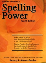 Spelling Power, Fourth Edition