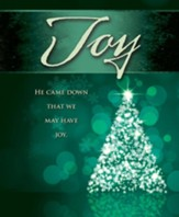 Joy Tree Advent Large Bulletins, Pack of 50