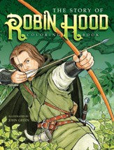 The Story of Robin Hood Coloring Book
