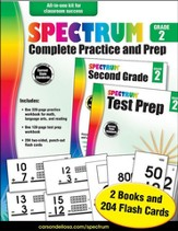 Spectrum Complete Practice and Prep, Grade 2