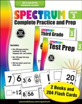 Spectrum Complete Practice and Prep, Grade 3