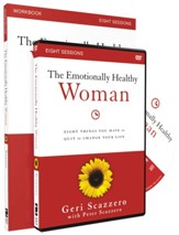 Emotionally Healthy Woman Study Guide W/DVD