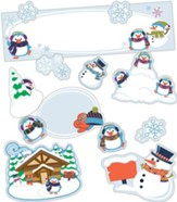 Winter Mini Bulletin Board Set, Grades K-5