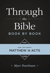 Through the Bible Book by Book Part Three - eBook