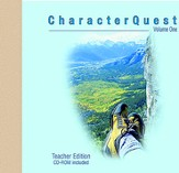 Character Quest: Volume 1, Revised (Teacher Edition) with CD-ROM