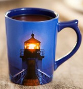 Send Forth Light, Psalm 43:3 Mug