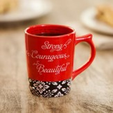 Strong And Beautiful, Psalm 16:11 Mug