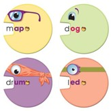 Word Wheels: Word Families Colorful Cut-Outs, Grades K-2