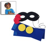 Hero Central VBS Craft: Hero Costume Kit (Pkg of 12)    Hero Costume Kit (Pkg of 12)