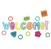 School Pop Welcome Mini Bulletin Board Set, Grades K-5