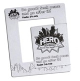 VBS 2017 Hero Central: Discover Your Strength in God! - Hero Magnetic Frame (Pkg of 12)
