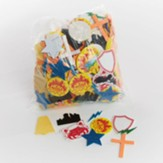 VBS 2017 Hero Central: Discover Your Strength in God! - Stay Put Glitter Stickers