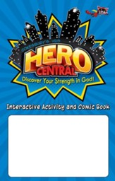 VBS 2017 Hero Central: Discover Your Strength in God! - Interactive Activity and Comic Book (Pkg of 25)