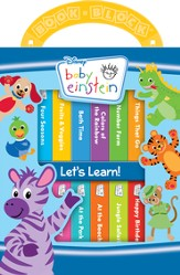 Baby Einstein: My First Library Let's Learn Board Book Set