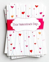 Whimsical Design Packaged Valentine Cards