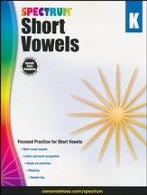Spectrum Short Vowels, Grade K