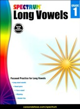 Spectrum Long Vowels, Grade 1