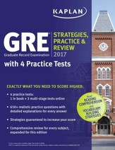 GRE 2017 Strategies, Practice, and  Review with 4 Practice Tests: Online + Book - eBook