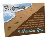 Footprints Cutting Board