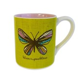Believe In Possibilities, Butterfly Mug