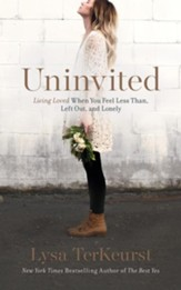 Uninvited: Living Loved When You Feel Less Than, Left Out, and Lonely - unabridged audio book on CD