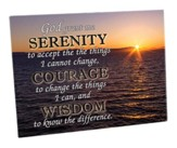Serenity Prayer Cutting Board
