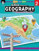 180 Days of Geography for Second  Grade