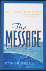 The Message New Testament: Mass Market - Slightly Imperfect